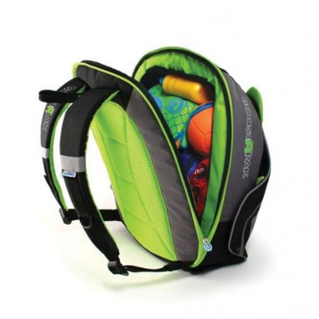 Rucsac-scaun inaltator Trunki BoostApak Verde4