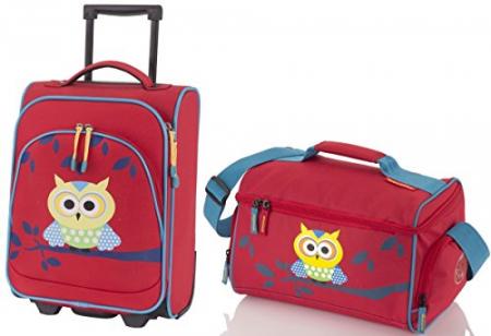 Set Travel Bufnita - Troler cu 2 roti si geanta de voiaj0