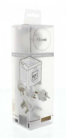 Set 4 adaptoare pentru P-CUBE-REV Allocacoc ADAPT-TRAVEL-03WE1