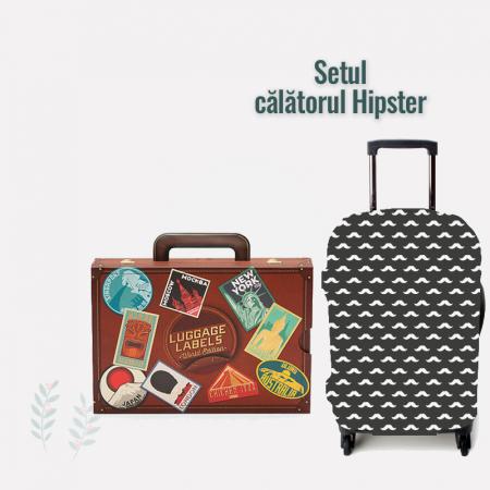 "Set travel ""Calatorul Hipster""0"