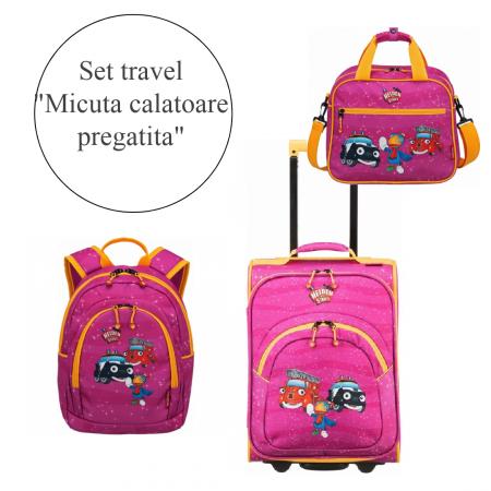 """Set travel """"Micuta calatoare pregatita""""0"""