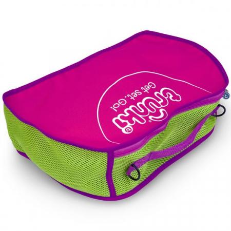 Set travel pentru copii - Valiza TRUNKI Rosie + Trunki Tidy Bag Pink8
