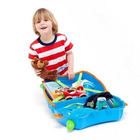 Set Travel pentru copii - Valiza TRUNKI Terrance +  Rucsac pentru gradinita Travelite - Eroii Orasului4