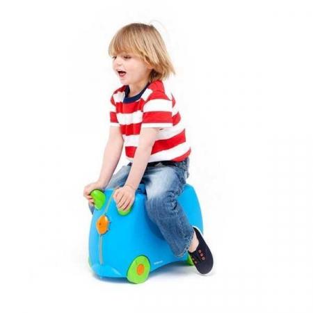Set Travel pentru copii - Valiza TRUNKI Terrance +  Rucsac pentru gradinita Travelite - Eroii Orasului5