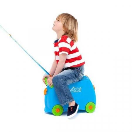 Set Travel pentru copii - Valiza TRUNKI Terrance +  Rucsac pentru gradinita Travelite - Eroii Orasului6