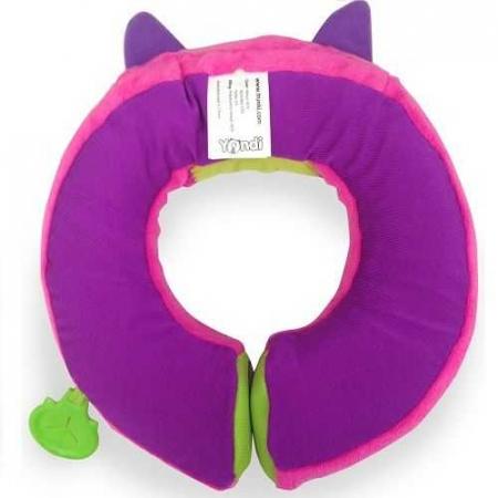 Set travel pentru copii - Valiza TRUNKI Trixie + Perna de calatorie Yondi Pink8
