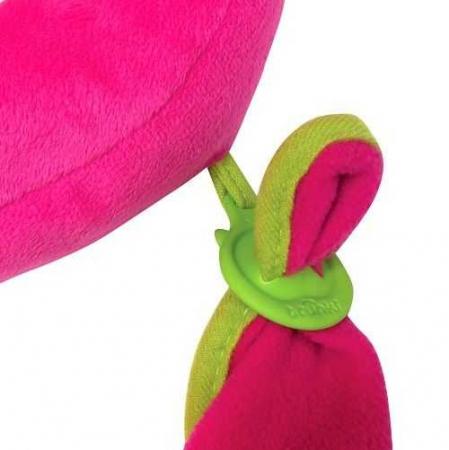 Set travel pentru copii - Valiza TRUNKI Trixie + Perna de calatorie Yondi Pink10
