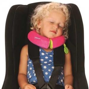 Set travel pentru copii - Valiza TRUNKI UNA - Unicornul + Perna calatorie Trunki Yondi Pink11