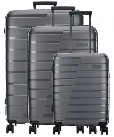 SET Trolere Travelite AIR BASE 4 roti duble S, M, L0