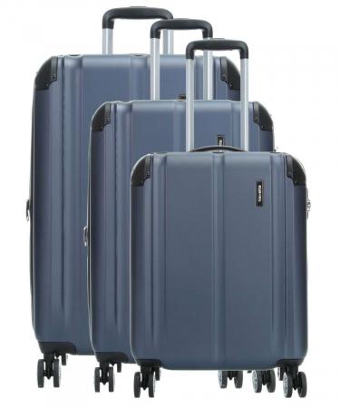 Set trolere Travelite CITY 4 roti L extensibil/M extensibil/S0