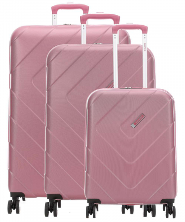 SET Trolere Travelite Kalisto 4 roti S,M extensibil, L0