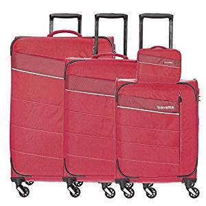 Set Trolere Travelite KITE 4 roti  S, M, L + CADOU geanta de bord0
