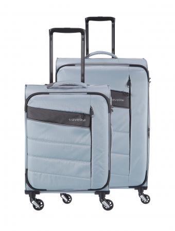 SET Trolere Travelite KITE 4w S,Mexp - Argintiu0