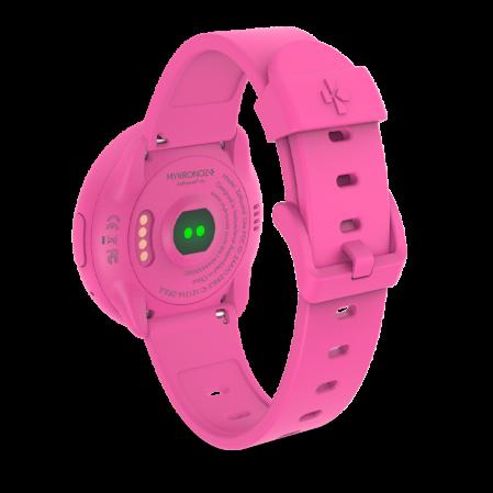 Smartwatch MyKronoz ZeRound 3 Lite Rezistent la apa - Roz/ Roz2