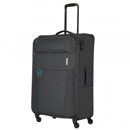 Set trolere Travelite GO 4 roti Lextensibil/M extensibil/ S - Gri antracit1