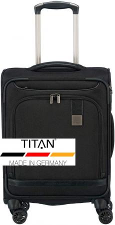 Troler de cabina Titan CEO 4 roti 55 cm - Negru6