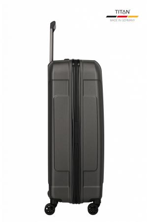 Troler de cala TITAN X-RAY PRO L ( 52 x 77 x 29 cm) - Amprenta digitala si USB inclus11