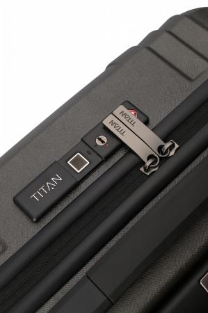 Troler de cabina TITAN X-RAY PRO S ( 40 x 55 x 20 cm) - Amprenta digitala si USB inclus10