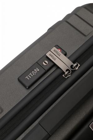 Troler de cala TITAN X-RAY PRO L ( 52 x 77 x 29 cm) - Amprenta digitala si USB inclus5