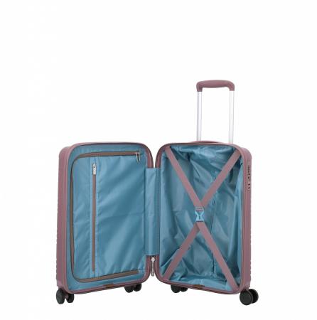 Troler de cabina Travelite ZENIT 4 roti duble (spinner) 55 cm S6