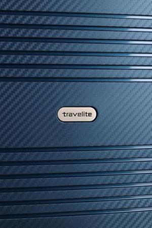 Troler de cabina Travelite ZENIT 4 roti duble (spinner) 55 cm S5