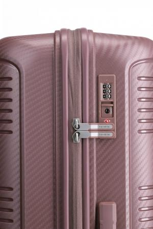 Troler de cabina Travelite ZENIT 4 roti duble (spinner) 55 cm S2
