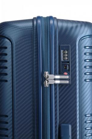 Troler de cabina Travelite ZENIT 4 roti duble (spinner) 55 cm S3