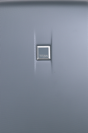 Troler de cala cu USB - TITAN XENON 4 roti 74 cm (L) - Albastru10