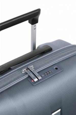 Troler de cabina cu USB - TITAN XENON 4 roti 55 cm (S) - Albastru9