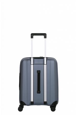 Troler de cabina cu USB - TITAN XENON 4 roti 55 cm (S) - Albastru2