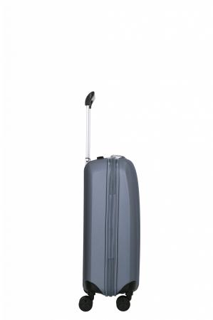 Troler de cabina cu USB - TITAN XENON 4 roti 55 cm (S) - Albastru5
