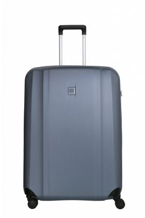 Troler de cala cu USB - TITAN XENON 4 roti 74 cm (L) - Albastru0