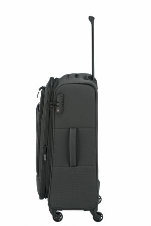 Troler de cala Travelite Derby 4 roti M 66 cm - extensibil1
