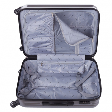 Troler Lamonza Fantasy argintiu cu negru 67x45x27 cm5