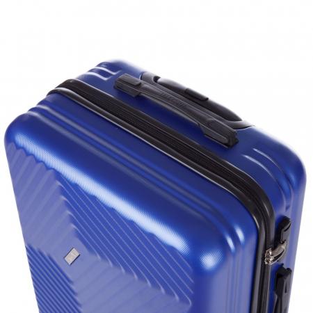 Troler Lamonza Fantasy albastru cu negru 77X53X30 cm2
