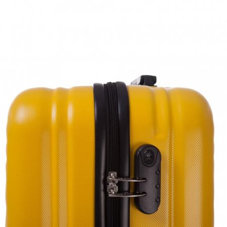 Troler Lamonza Fantasy galben cu negru 67x45x27 cm1