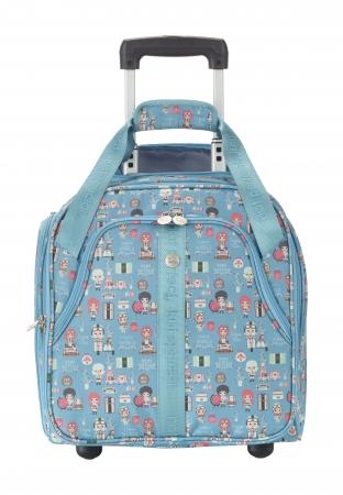 Troler LIL'LEDY 2 roti -  40 cm- TEXTIL – turquoise – travelite0