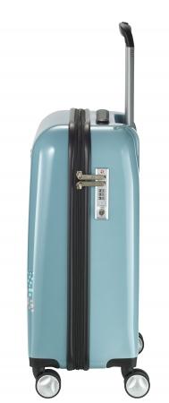 Troler LIL'LEDY 4 roti duble  S - 54 cm, albastru pudrat- travelite2