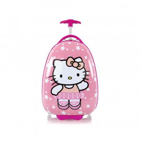 Troler pentru copii Hello Kitty 46 cm 2 roti1
