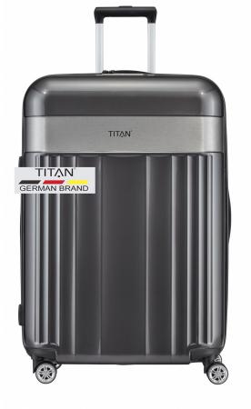 Troler TITAN - SPOTLIGHT -  L - 76 cm 4 roti duble12