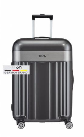 Troler TITAN - SPOTLIGHT 4 roti duble M - 67 cm0