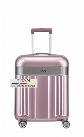 Troler TITAN - SPOTLIGHT - S - 55 cm 4 roti duble0