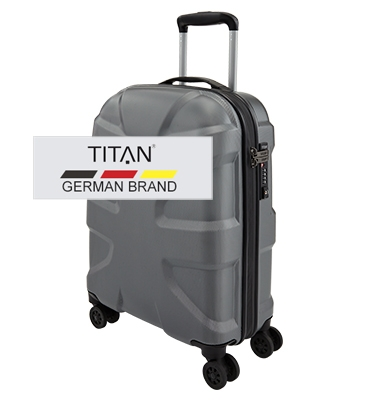 Troler TITAN X2  4 roti  S 55 cm - Antracit0