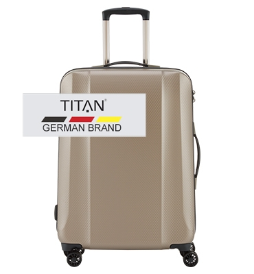 Troler TITAN XENON DELUXE 4 roti 67 cm0
