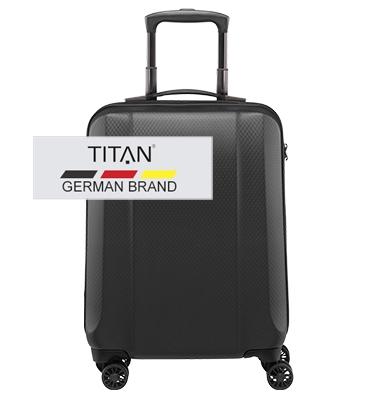 Troler cabina TITAN XENON DELUXE 4 roti 55 cm0