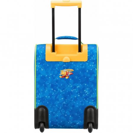 Troler Travelite 2 roti textil Eroii Orasului S8