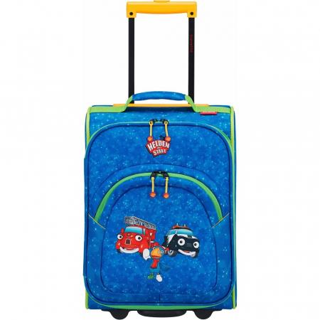 Troler Travelite 2 roti textil Eroii Orasului S6