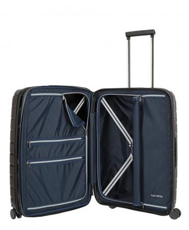 Troler travelite AIR BASE 4 roti DUBLE 67 CM - M extensibil2