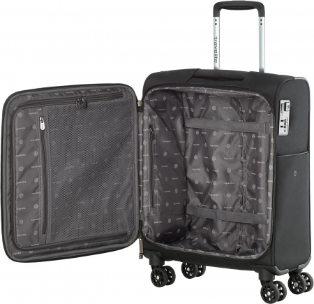 Set trolere Travelite JADE 4 roti 54cm, geanta de umar si rucsac (USB incorporat)14