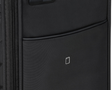 Set trolere Travelite JADE 4 roti 54cm, geanta de umar si rucsac (USB incorporat)13
